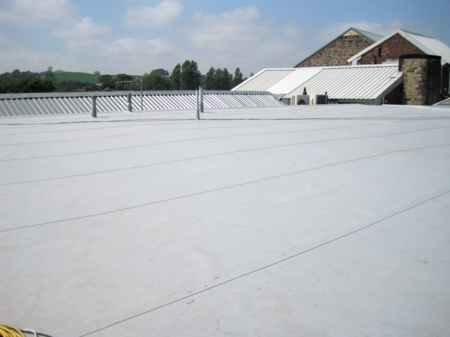 Single Ply Roofing In Central California Durable Cool Roofs Inc